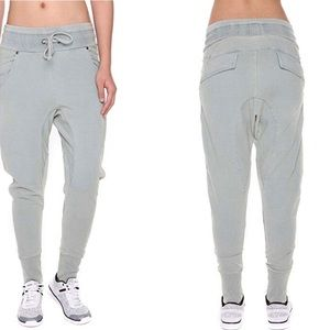 Pants - Jogger Pants/Cotton Harem High Waist Drawstring